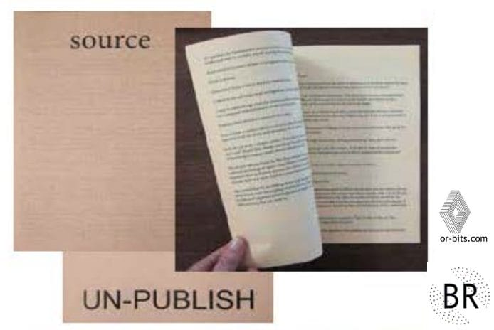 The Scource issue of Un-publish published by Banner Repeater (London)